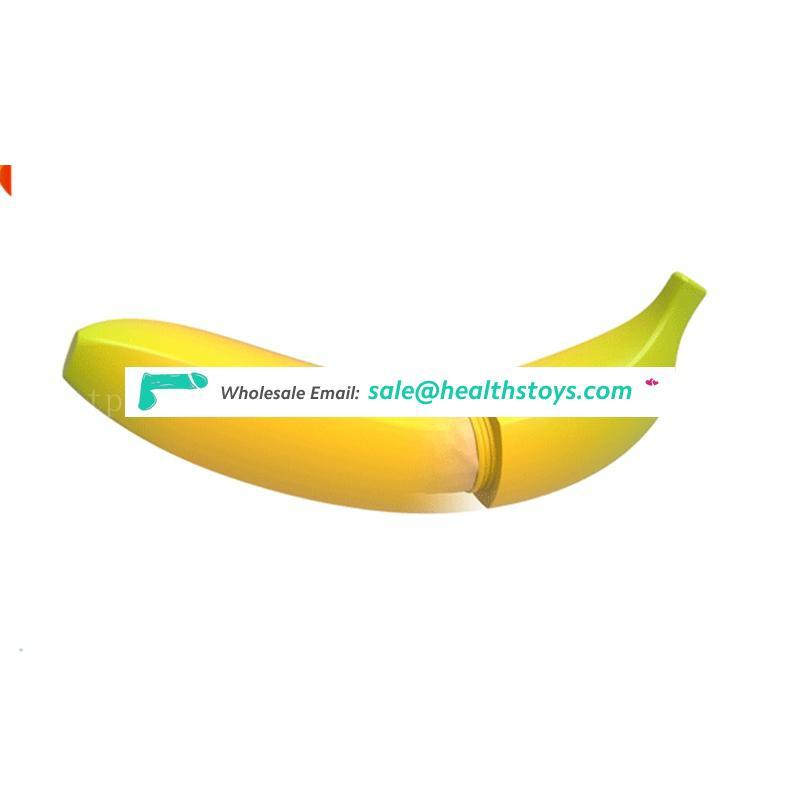 Heating Silicone Sex Products Banana Massager Wand Vibrator