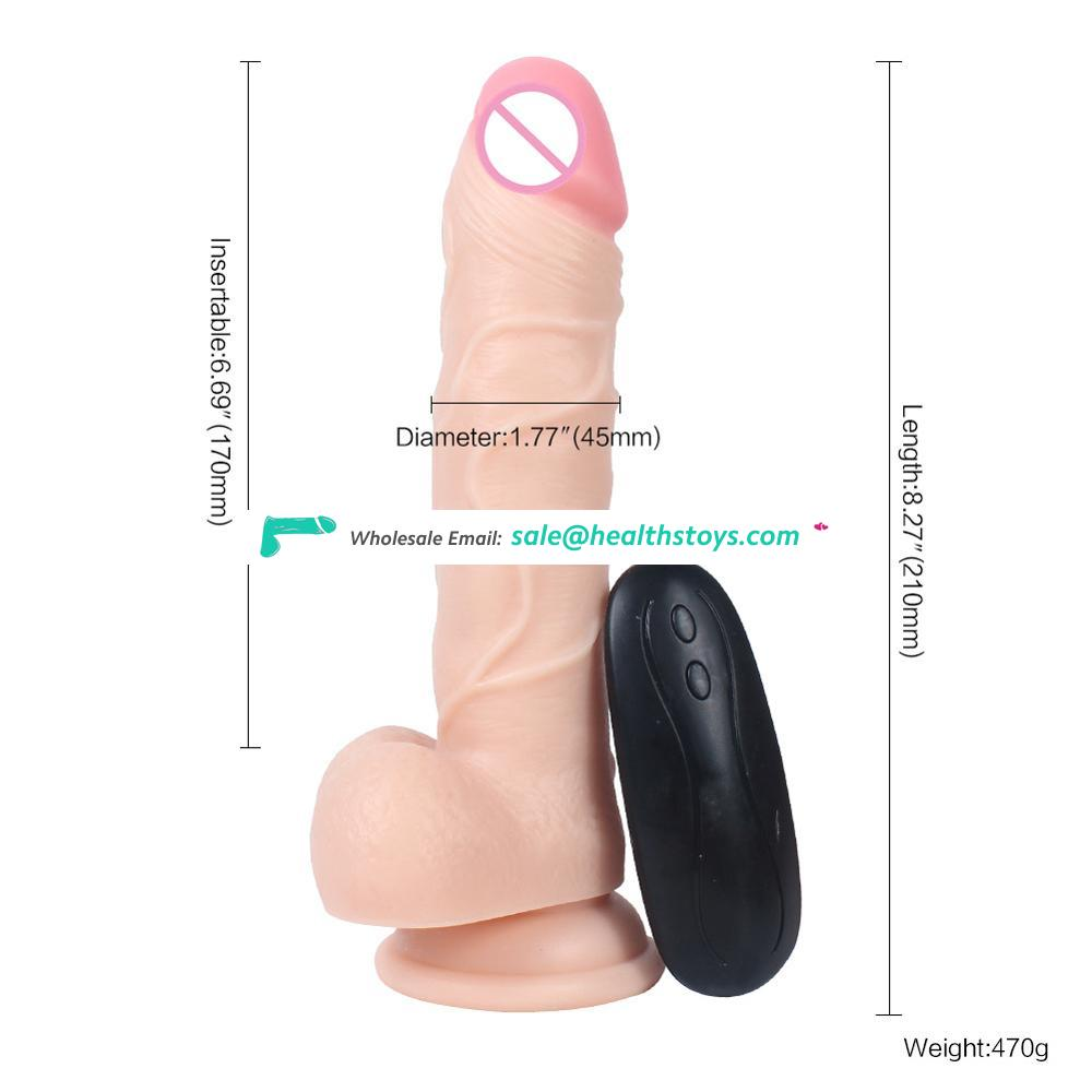 New design waterproof vibrating dildo artificial penis sex with vagina for women clitoris climax