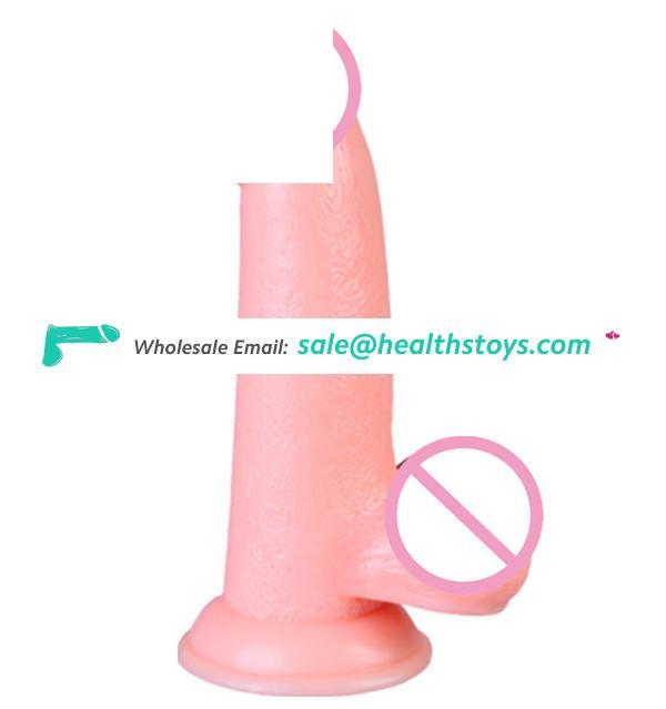 Sex Product Female Masturbation Vibrator Dildo,7 Speeds Vibrating Realistic Dildo For Women