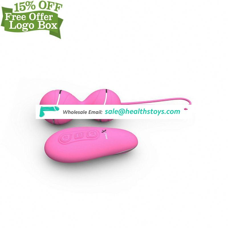 Silicone Wireless Powerful Vibrating Eggs Waterproof Love For Female With Remote Control