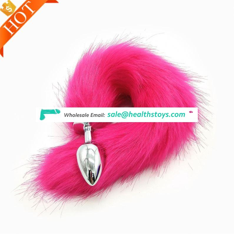Top selling multifunction Anal Butt Plug With Cat Fox Tail