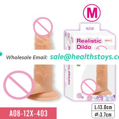Wireless Realistic Dildo With Sturdy Suction Cup sex toy