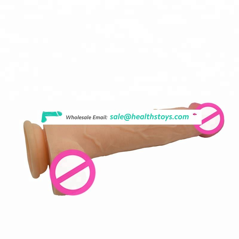 Hot sell realistic mushroom head wireless&inflating silicone sex toy for women