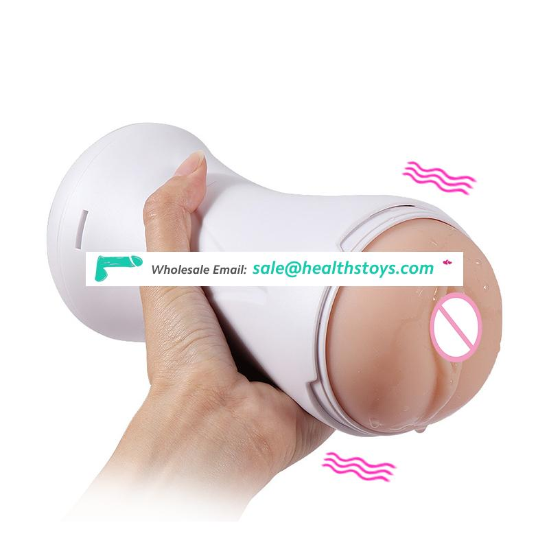 New Product Adult Sex Toy Pussy Electric Male Masturbators with Vibration and Groan Voice Masturbation Cup for Men