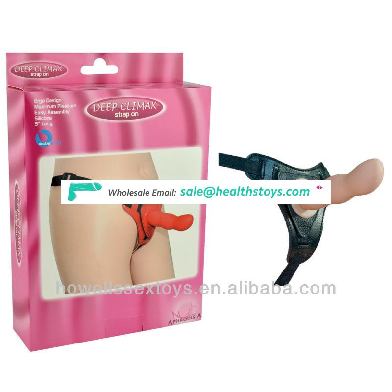 Sex Harness, Strap on Dildo , Silicone Dildo Sex Toy from Manufacturer