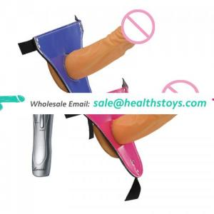 10 Speed Wearable Sex Dildo Realistic Penis Wearable Vibrating Dongs