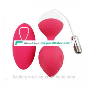 10 Speeds Smart Ben Wa Ball Weighted Female Vaginal Tight Koro Ball With Vibrating Eggs