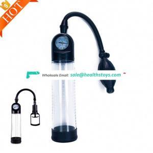 100% Factory sextoys waterproof enlargement Pressure gage Pressure Gauge With Antomatic Air Hand Vacuum Pump Machine