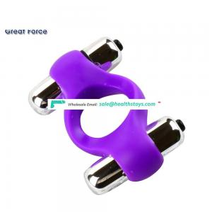 100% Silicone delay lasting penis rings flexible soft waterproof cock ring