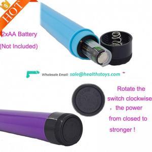 100% waterproof super shock strong vibrating powerful Stick 2018 OEM Vibrating Pussy Bullet Shape Vibrators