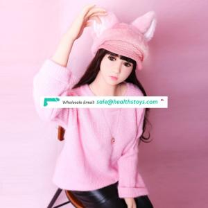140cm/4.59ft Lifelike cute mini young silicone sex doll silicon doll realistic