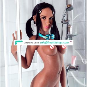 157cm Slim Love Dolls Hot-Ass Full Silicone Lifelike Sex Doll For Man, Realistic Breasts Silicone Vagina Love Doll