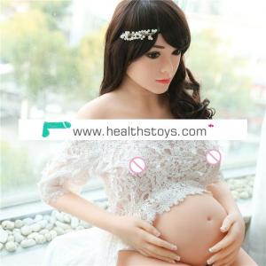 158cm Pregnant sex doll real silicone sex dolls with flexibale metal skeleton