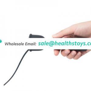 16 frequency vibration silicone urethral vibrator sex toys urethral stimulation male delay exerciser