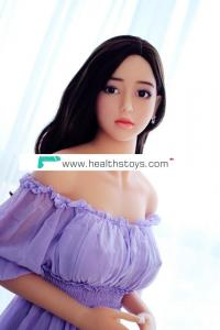 165cm full silicone sex doll metal skeleton adult Lady japanese size love doll for men Korean face