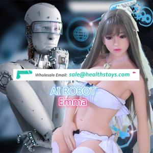 18 Sex Love Doll Robot Sex Doll Silicone Robot Emma has replaced Silent Shemale Sex Doll