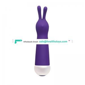 2016 New Ultra Joy Rabbit Vibrator 7-Speed Waterproof Health Silicone Vibrating Full Body Massage Stick