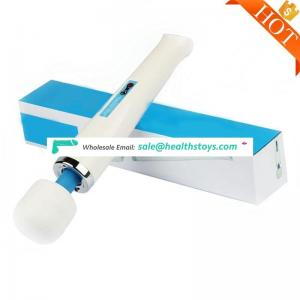 2017 Hot Sale Vibrator Sex Toy, Electric Silicone Wand Massager Vibrator, Handheld Personal Wand Massager