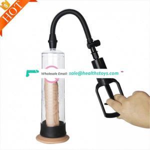 2017 hot selling male vacuum sex toys Enlargement Manual Penis Pump Vacuum