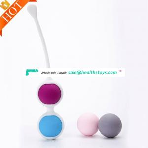 2018 Hotseller Silicone Vaginal Dumbbell Ben Wa Balls Yoni Eggs Kegel Exercise Balls For Women