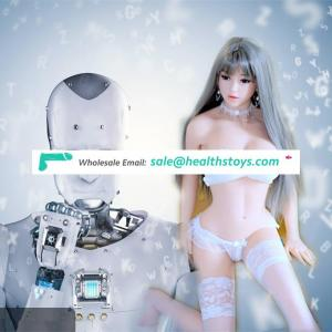 2018 New Talking Smart Intelligent Humanoid real silicone doll robot Emma comes