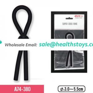 Adjustable silicone cock ring for men