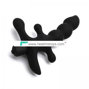 Adult product anal prostate vibrator sex toy man wireless anal plug