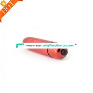 Amazon Multi color Mini strong vibrating rubber bullet Vibrator Anal Plug Pussy vibrator G-spot Massager