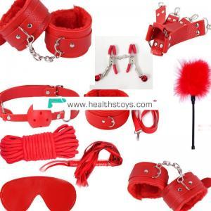 Anniyatoys Sexy Product Bondage Kit 10 Pcs Set Adult Games Toys Couples Erotic Toys