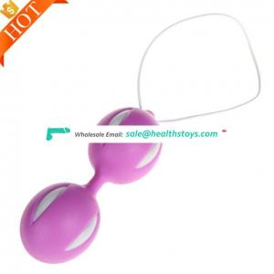 Best selling silicone exercises Vagina Massage Sex Toy Kegel Balls Exercise Device