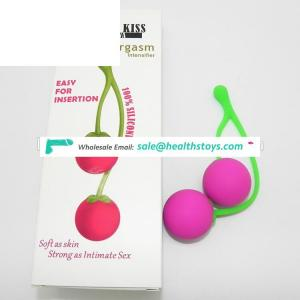 Cherry Koro Ball Vaginal Ball Ben Wa Balls Smartball Geisha Tighter Vagina Trainer Sex Products toys For Women GS0063