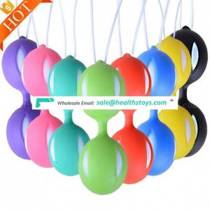 Customize Colour And Weight Full Silicone Weighted Smart Love Balls Cherry Weighted Female Kegel Ben Wa Ball