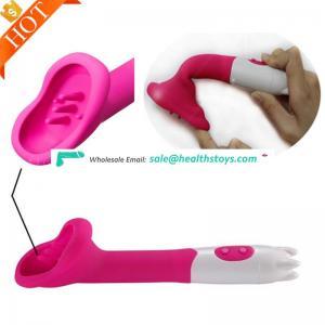 Customized Dildos Lady Clitor Sex Tongue Clitoral Dildo G-Spot Clitoris Stimulation Vibrator