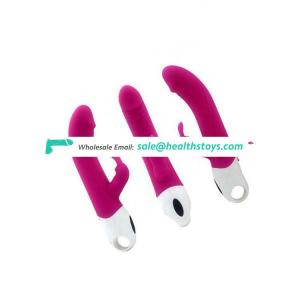 Dildo Toys Women Adult Ce Certificate Silicone Rechargeable Rabbit Vibrator