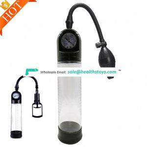 Dildo enlargement Device vacuum Meter pussy Enlargers Pressure Gauge With Antomatic Air Hand Vacuum Pump
