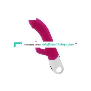 Double Rabbit 7 Modes Vibration Silicone Dildo Vibrator