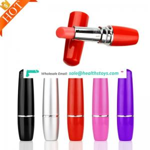 FDA & LFGB Approved Sex Toys Wholesales Shemale Japan Porno Sex Toy Mini Mute Bullet Lipstick G-Spot Vibrator
