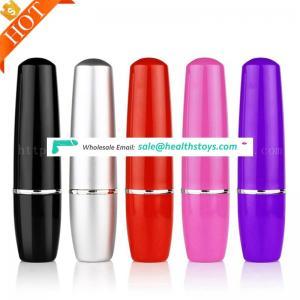 FDA & LFGB Approved Sex Toys Wholesales Shemale Japan Porno Sex Toy Mini Mute Bullet Lipstick G-Spot Vibrator