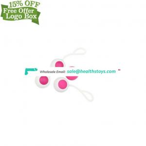 Factory Silicone Waterproof Women Vagina Exercise Ben Wa Kegel Balls