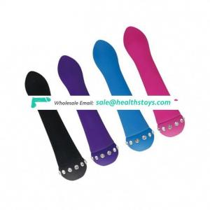 Female Clitoral Stimulator Vagina Sex Toy Poker Pussy Massager Diamond Vibrator Product