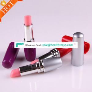 Full Silicone Realistic Strong Sucker Lipstick Mini Pussy Electric Vibrator