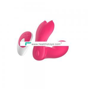 G-Spot Vibrator, Cordless Vagina & Clitoris Stimulator Wireless Remote Control Wearable Silicone Vibrator Sex Toys for Women