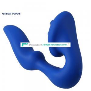 GF5011Stimulate g-spot accurately! heated silicone vibrator&body vibrator massage machine