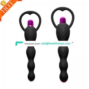 Good Price High Waterproof Quality Silicone Anal Beads Plug For Women Man