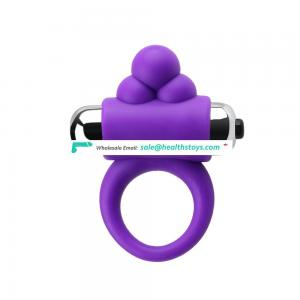 Good quality beautiful mans silicone adjustable cock ring horseshoe cock ring for men