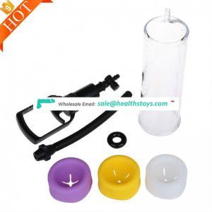 Hand silicone sleeve vacuum enlarger size Hydromax30 Vibrator Penis Enlargement Vacuum Pump
