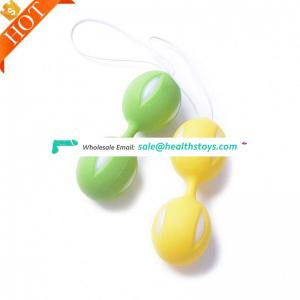 Healthcare product different weighted Dildo Cheap 3 Set Silicone Kegel Exercise Love Ball