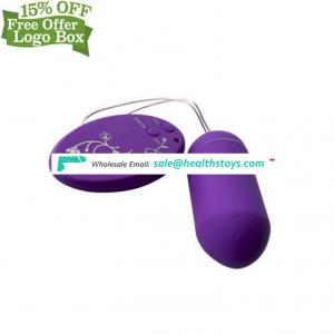 High Quality Remote Control Love Eggs Wireless Waterproof Vibrating Sex Jump For Women