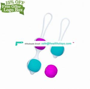 High Quality Silicone Exercise Vagina Care Tight Beads Massage Advanced Koro Ball Kegel Balls