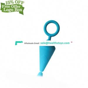 High Quality Top Grade Medical Silicone Different Size Anal Plug